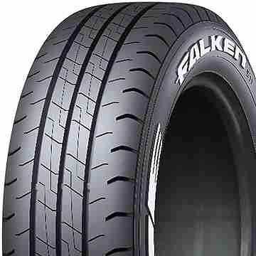 2本セット FALKEN ファルケン W11 195/80R15 107/105N 送料無料 タイヤ単品2本価格