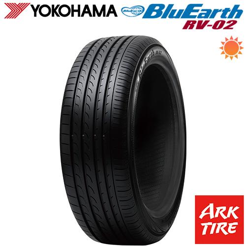 YOKOHAMA ヨコハマ ブルーアース RV-02 245/40R20 99W XL 送料無料 タイヤ単品1本価格