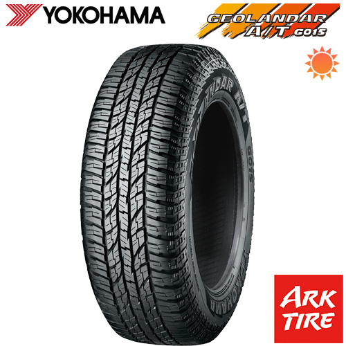 YOKOHAMA ヨコハマ ジオランダー A/T G015 RBL(在庫限り) 165/60R15 77H 送料無料 タイヤ単品1本価格