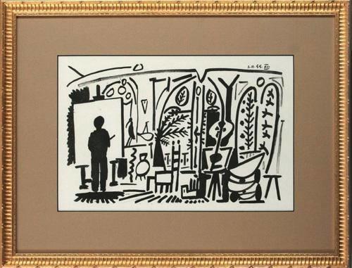 版画 中古 スケッチブックより 現品 #11 リトグラフ Picasso Pablo なし お気に入 ピカソ パブロ