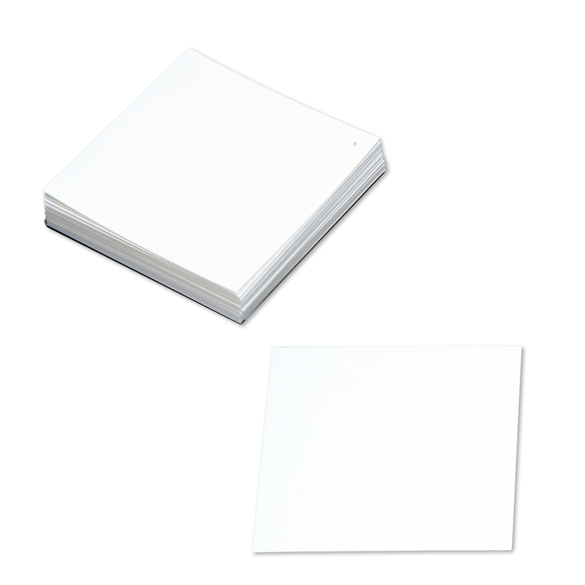超激得SALE 多用途に使える正方形カード 爆買い送料無料 正方形マルチプルカード 100mm角 上質紙 100枚組