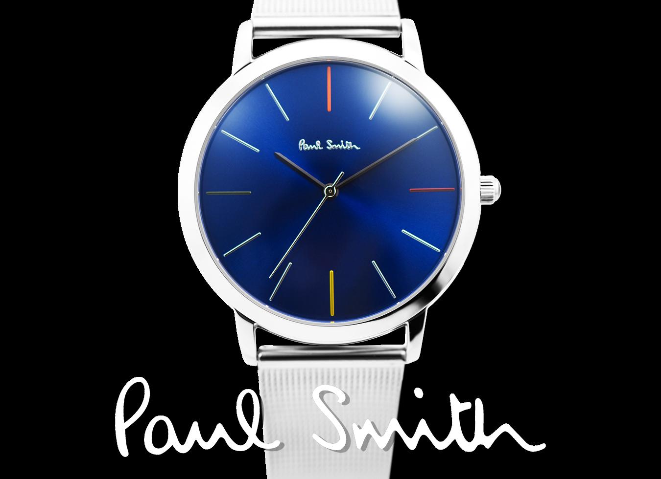 separation shoes 7ff2f a0766 Paul Smith ポールスミス MA エムエー 41mm メンズ 腕時計 レザー メタル ウォッチ プレゼント 贈り物 記念日 ギフト  [あす楽]|セレクトショップ NUMBER11