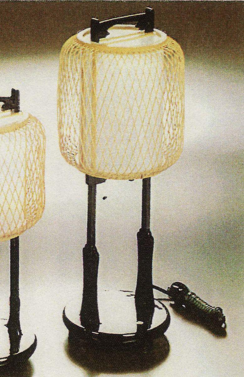 木製照明 あんどん a9437 竹千筋行燈 日本製 尺六なつめ NO1 送料無料 静岡職人細工