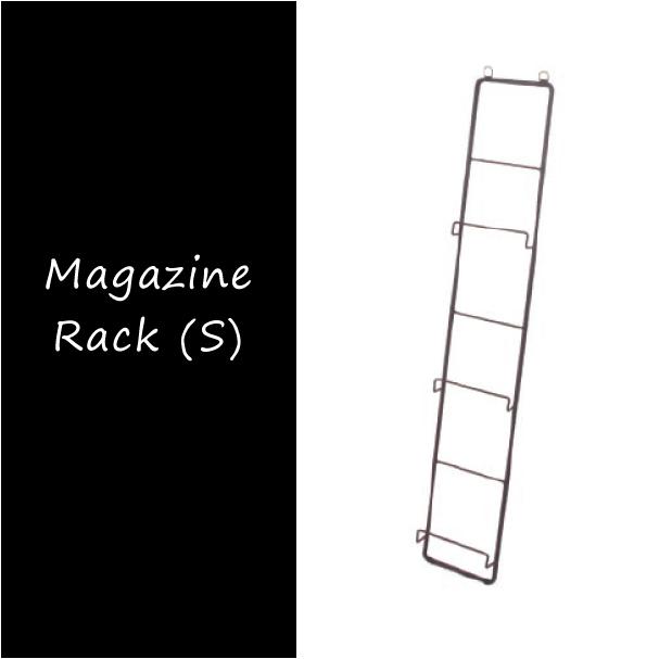 本 立てかけ 収納 鉄 【送料無料】 サビ おしゃれ インダストリアル 無垢 壁面 マガジンラック アイアン (L) 錆 雑誌 シャビーシック スチール ラック a depeche Magazine Rack 壁掛け 見せる