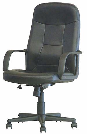 送料無料 ハイバック OA レザーチェア 肘付き タイプ オフィス 会社 椅子 キャスター デスクチェア