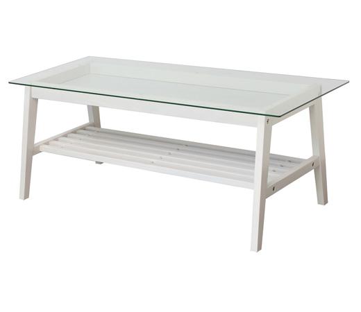 コレクション テーブル W90 収納 棚 ガラス リビング 食卓 北欧 ホワイト