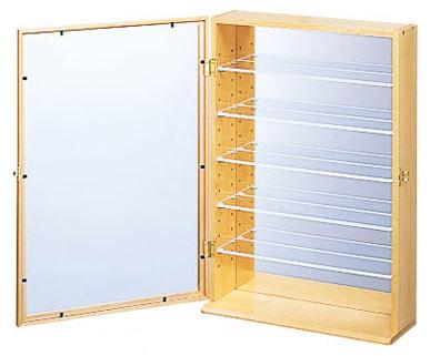 送料無料 コレクションケース 6段 ナカバヤシ 木製 ディスプレイ
