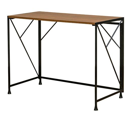 75cm テーブル デスク 正方形 ウォールナット おしゃれ 北欧 作業台