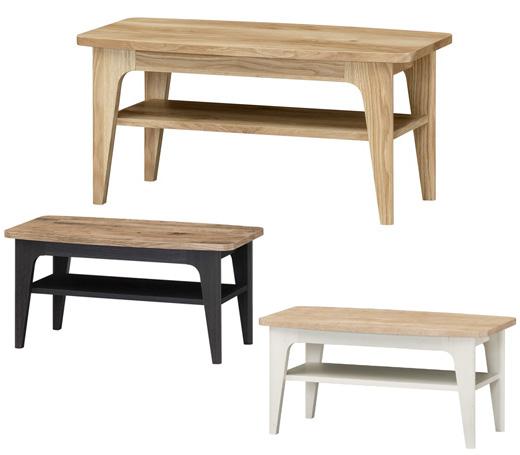送料無料 収納 ローテーブル テーブル デスク 木製 ホワイト 白 机 飾り棚 引出し 北欧
