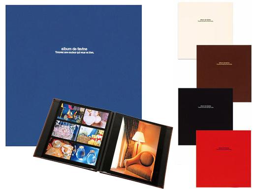 送料無料 黒台紙 & 布地表紙 アルバム よりどり3冊セット Lサイズ