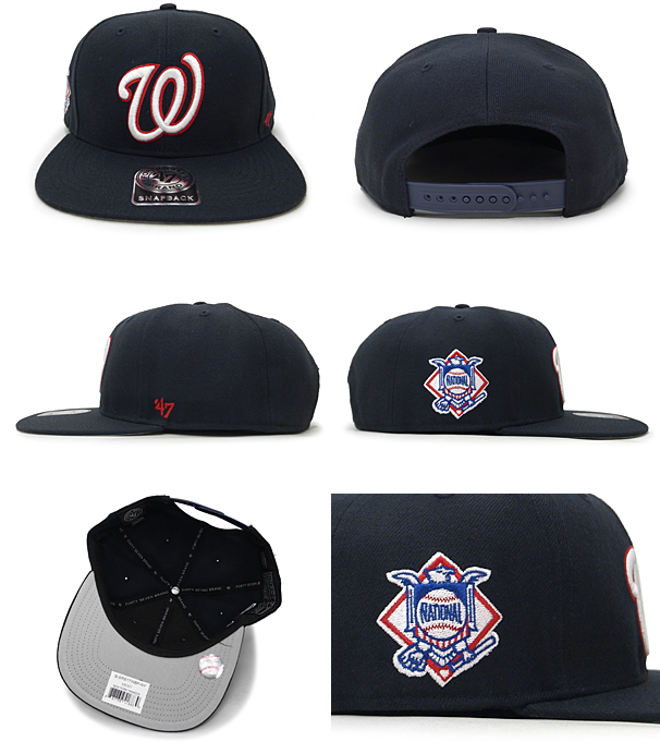 54245bb5341b1 47BRAND WASINGTON NATIONALS forty seven brand Washington National s snapback   size men gap Dis LA CAP 15 9 3FTS 15 9 4 which a hat headgear has a big