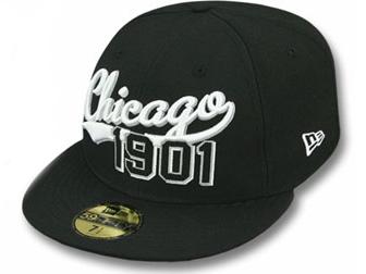 NEW ERA ニューエラ CHICAGO WHITE SOX シカゴ ホワイトソックス【THE BEGINNING/BLK-WHT】 [ 帽子 ヘッドギア new era cap ニューエラキャップ new eraキャップ neweraキャップ 大きい サイズ メンズ レディース WORK CAP ワークキャップ LA CAP]
