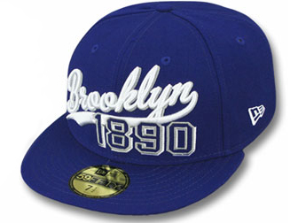 NEW ERA ニューエラ BROOKLYN DODGERS ブルックリン ドジャース【THE BEGINNING/RYL-WHT】 [ 帽子 ヘッドギア new era cap ニューエラキャップ new eraキャップ neweraキャップ 大きい サイズ メンズ レディース WORK CAP ワークキャップ LA CAP]