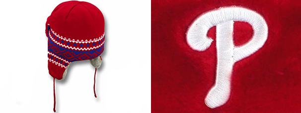24179f2ff2152 ... NEW ERA PHILADELPHIA PHILLIES new gills Phillies knit hat beanie trapper  [size men gap Dis