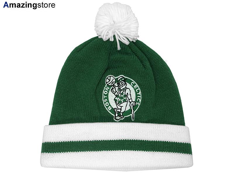 135f04475cb MITCHELL NESS BOSTON CELTICS Mitchell  amp  Ness Boston Celtics knit hat  Beanie  Hat head ...