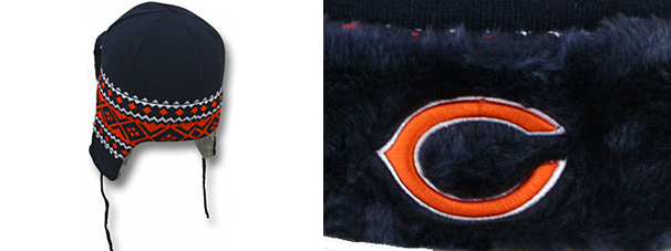 2cea3e64d56 MITCHELL NESS CHICAGO BEARS new era Chicago Bears Knit Beanie Hat Trapper  Hat  head gear new era cap new era caps new era Cap newera Cap large size mens  ...