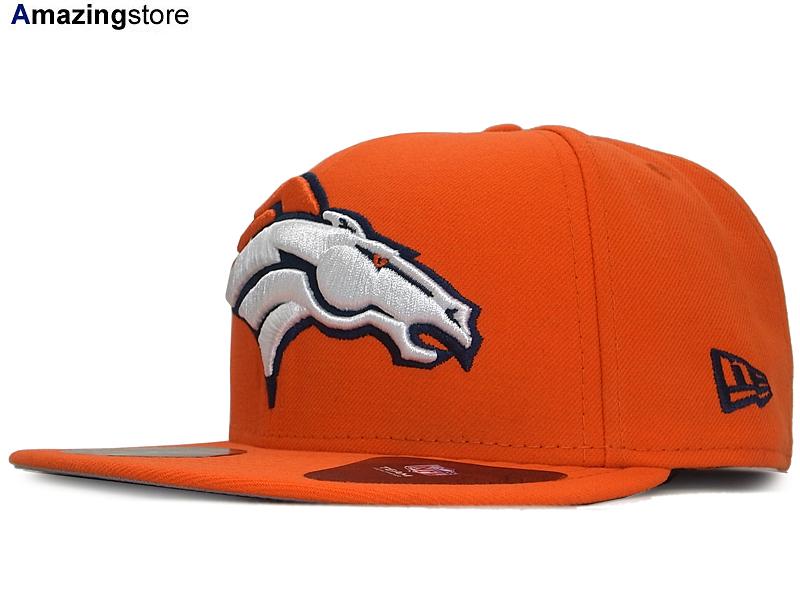 NEW ERA DENVER BRONCOS 【NFL MIGHTY-XL/ORG】ニューエラ デンバー ブロンコス 59FIFTY [帽子 ヘッドギア new era cap ニューエラキャップ new eraキャップ neweraキャップ 大きい サイズ メンズ レディース JORDAN LA NY BK SUPREME]