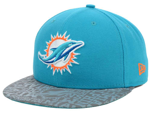 NEW ERA MIAMI DOLPHINS 【2014 NFL DRAFT/AQUA】 ニューエラ マイアミ ドルフィンズ 59FIFTY FITTED CAP [ 帽子 ヘッドギア new era cap ニューエラキャップ new eraキャップ neweraキャップ 大きい サイズ メンズ レディース コラボ]