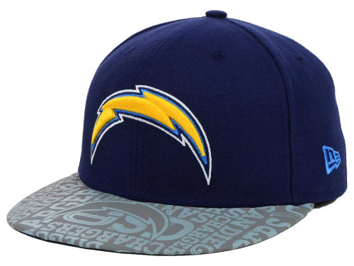 NEW ERA SAN DIEGO CHARGERS new gills San Diego Chargers 59FIFTY FITTED CAP   the size ... e101645c3