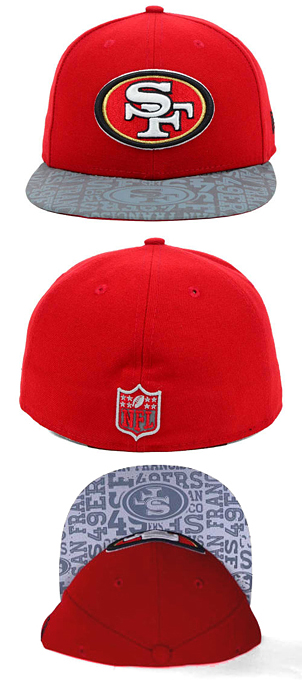 los angeles 0b830 a9ba1 ... NEW ERA SAN FRANCISCO 49ERS new gills San Francisco forty-niners  59FIFTY FITTED CAP