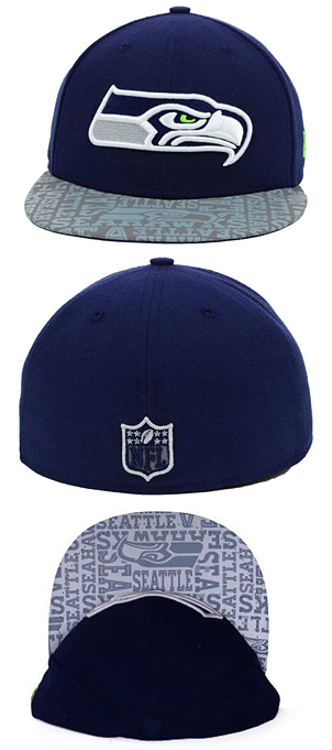 88906c68dd6 NEW ERA SEATTLE SEAHAWKS new gills Seattle Seahawks 59FIFTY FITTED CAP  the  size men gap Dis collaboration that hat headgear new era cap new gills cap  new ...