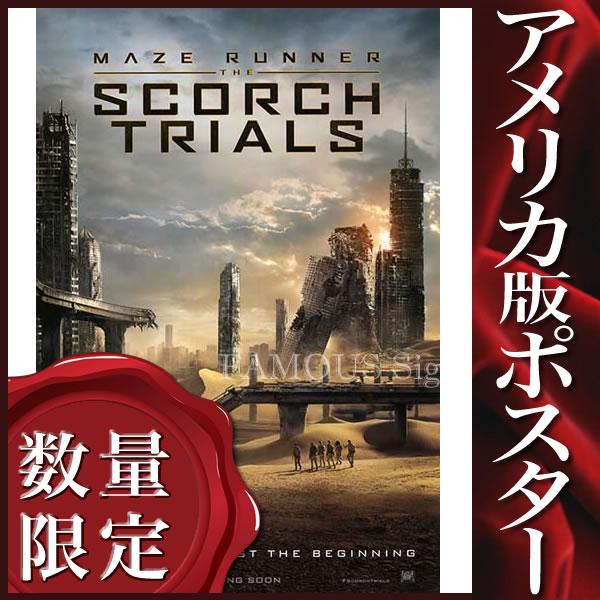 【映画ポスター】メイズランナー2 砂漠の迷宮 (ディランオブライエン) グッズ /ADV-DS