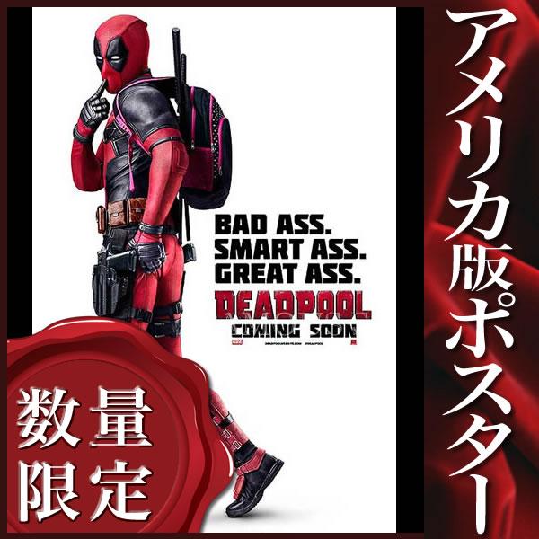 【映画ポスター】 デッドプール グッズ Deadpool /アメコミ インテリア アート おしゃれ フレームなし /INT-ADV-C 両面
