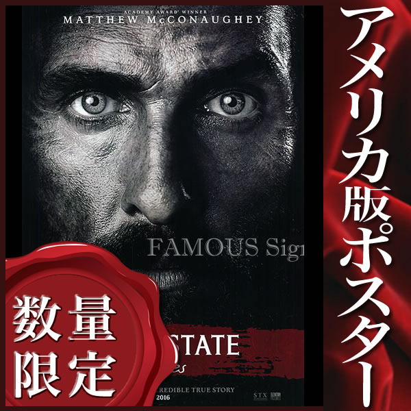 【映画ポスター】ニュートンナイト 自由の旗をかかげた男 (マシューマコノヒー/Free State of Jones) /片面