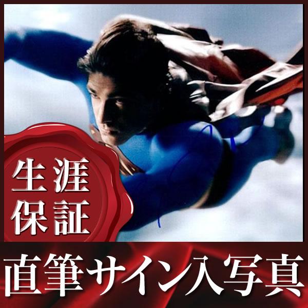 【直筆サイン入り写真】 スーパーマン リターンズ ブランドン・ラウス /アメコミ グッズ 映画 ブロマイド オートグラフ