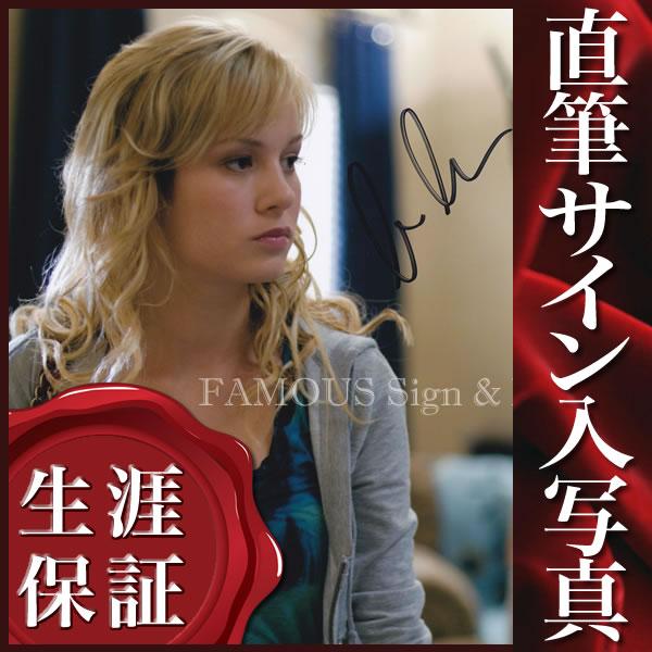 【直筆サイン入り写真】 ブリーラーソン (ザギャンブラー 熱い賭け 映画グッズ/Brie Larson)