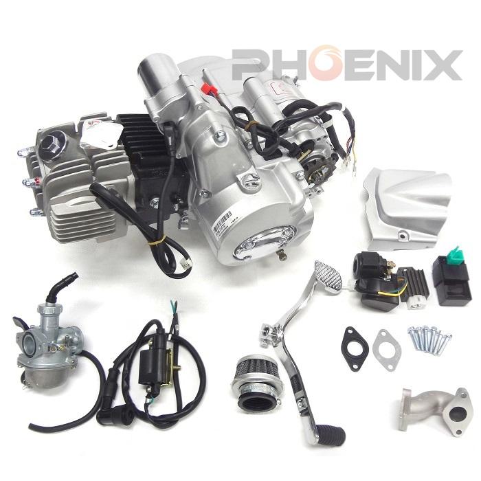 ATV 四輪バギー LIFAN製 125cc エンジン AT ノークラッチ バック付き セル 新着新品