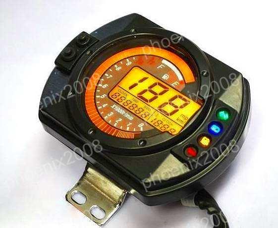 ATV モンキー ゴリラ 機械式 液晶 デジタルメーター