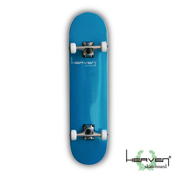 スケートボードコンプリートVitamin 31×7.625 HEAVEN PERFECT SKATE COMPLETEカラー:グランドブルー Grand Blue1番人気のハイスペックモデル 1番人気のサイズ 高品質 カナディアンメープル ヘブン スケボー