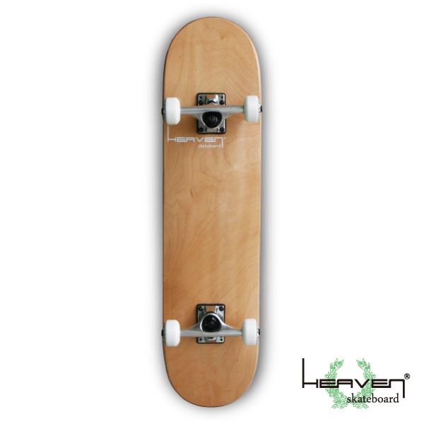 スケートボードコンプリート スケートVitamin 31×7.625 HEAVEN PERFECT SKATE COMPLETEカラー:ナチュラル NATURAL1番人気のハイスペックモデル・サイズ 高品質 カナディアンメープルヘブン スケボー