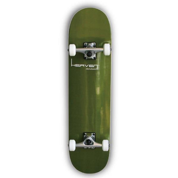 スケートボードコンプリートVitamin 31×7.625 HEAVEN PERFECT SKATE COMPLETEカラー:カーキ Cactus Khaki1番人気のハイスペックモデル 1番人気のサイズ 高品質 カナディアンメープルヘブン スケボースケートボード コンプリート コンプリ