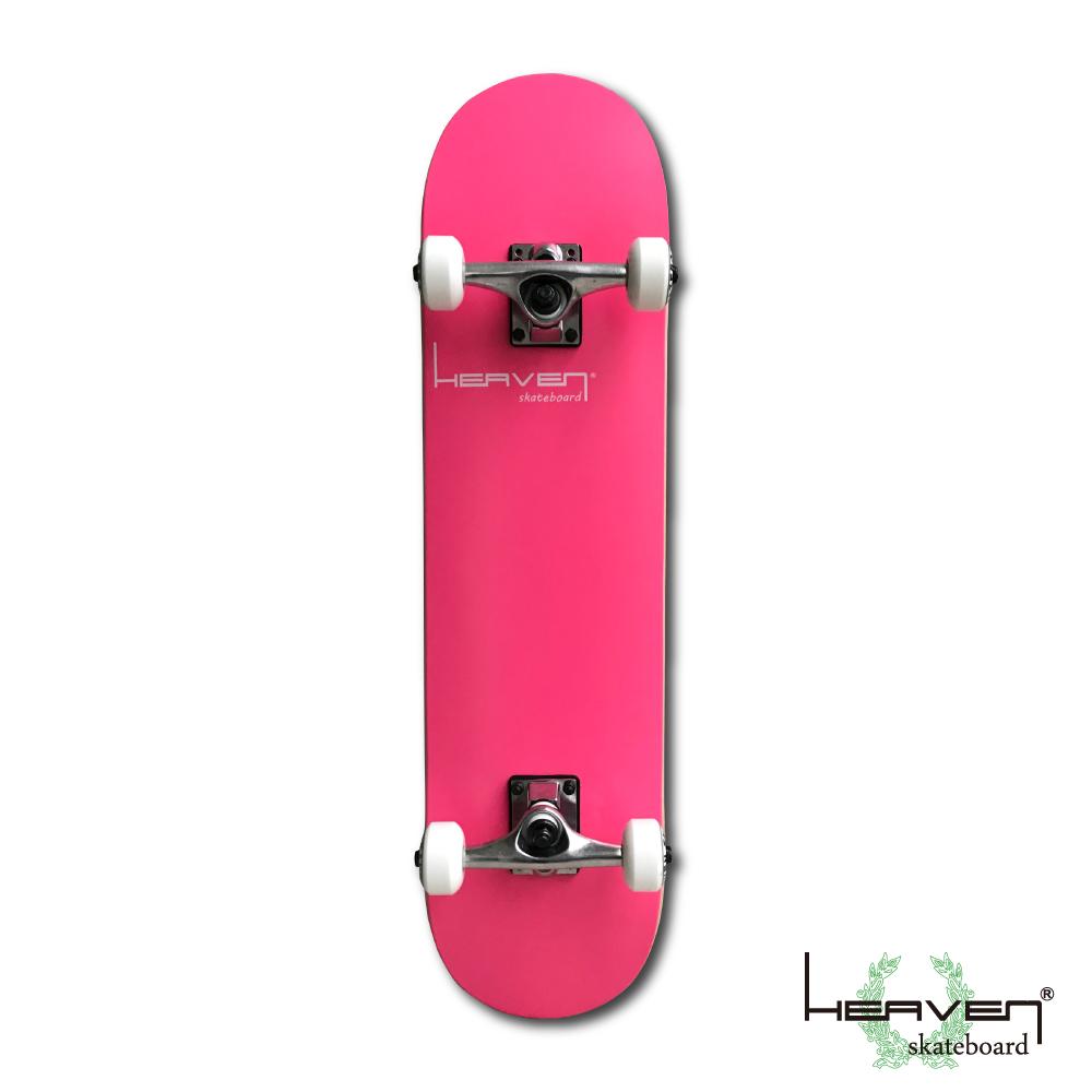 スケートボードコンプリートVitamin 31×7.625 HEAVEN PERFECT SKATE COMPLETEカラー:フラミンゴピンク Flamingo Pink1番人気のハイスペックモデル 1番人気のサイズ 高品質 カナディアンメープルヘブン スケボー