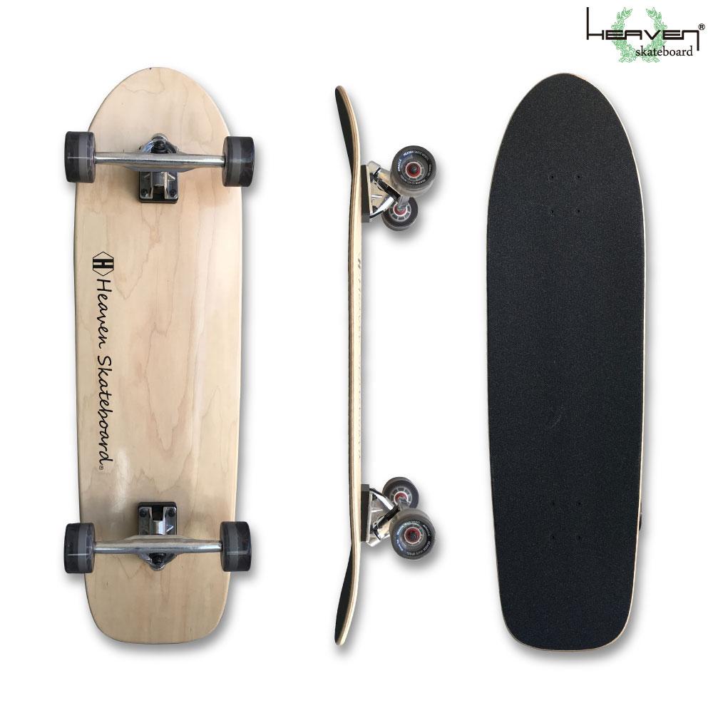 HEAVEN ロングスケートボード 35×10 スワミス35 SWAMISヘブン ABEC7 スケボー スケート ロンスケ sk8 SKATEBOARD 訳あり特別価格