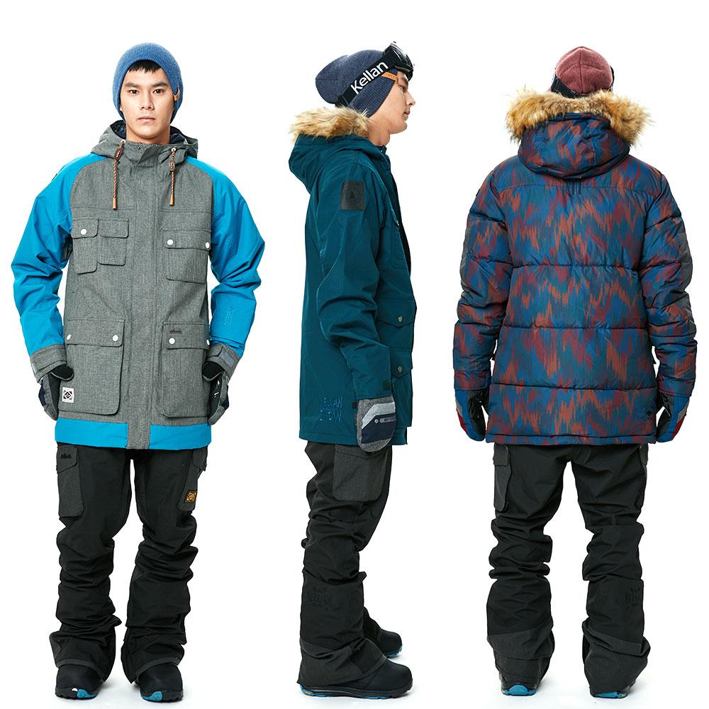 Kerann 大通裤子滑雪板滑雪服装男装是滑雪大尺寸压力耐水性凯兰大通 PNT 9202