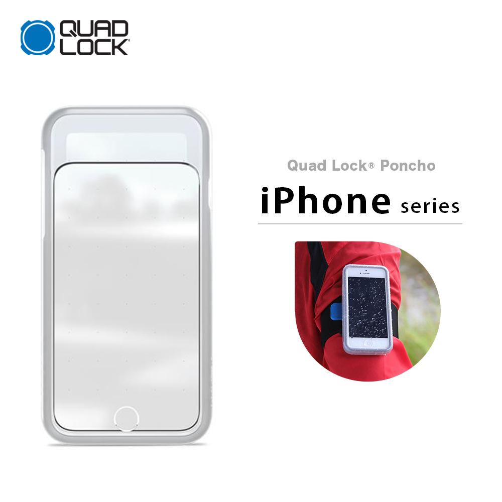 newest fb89d 9858f Quad Lock quad lock rain poncho Poncho iPhone 5 SE 6 6+ 7 7+ 8 8+ X Xs XR  Max waterproofing case waterproofing cover dust proofing