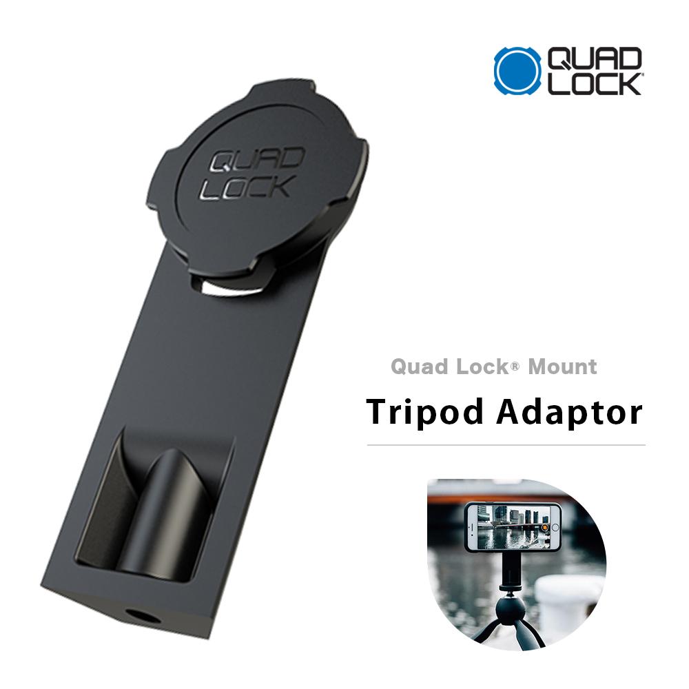 Quad Lock クアッドロック スマホ用三脚 別倉庫からの配送 土日も発送 人気ブランド トライポッドアダプター QLM-TRI-2 三脚 スマホ用 Tripod Adapter