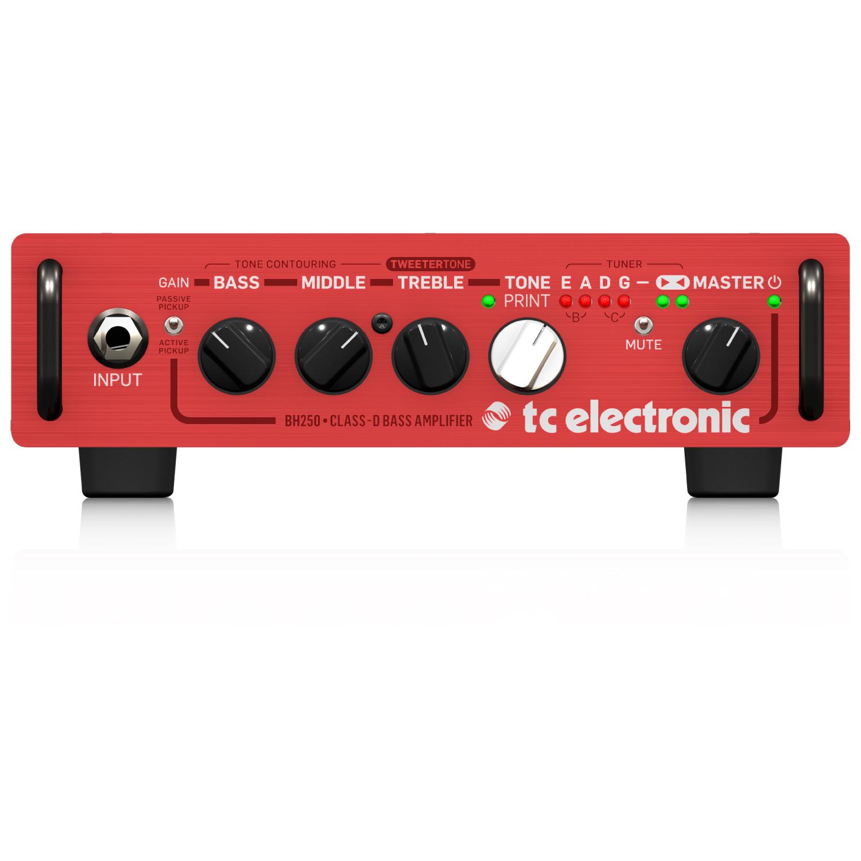 【new】tc electronic BH250【アンプ】【ヘッド】【ベース】