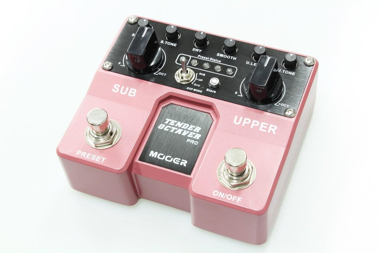 MOOER Tender Octaver Pro【新品】【オクターバー】【ムーアー】