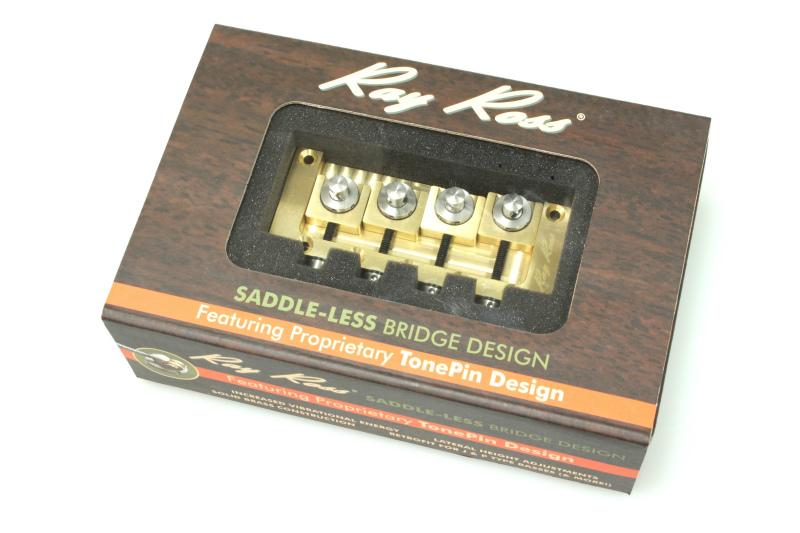ボールエンド部分の折れ曲がりがないデザイン new Ray 最安値挑戦 Ross Bass Bridge ブリッジ 4st Brass レイロス ベース 販売