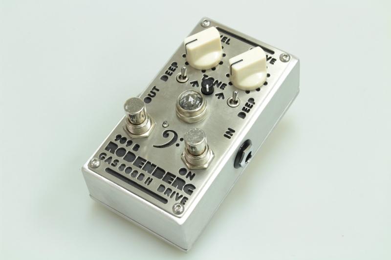 RODENBERG AMPLIFICATION GAS-808B II NG- Twin Overdrive【新品】【ローデンバーグ】【ベース】【エフェクター】