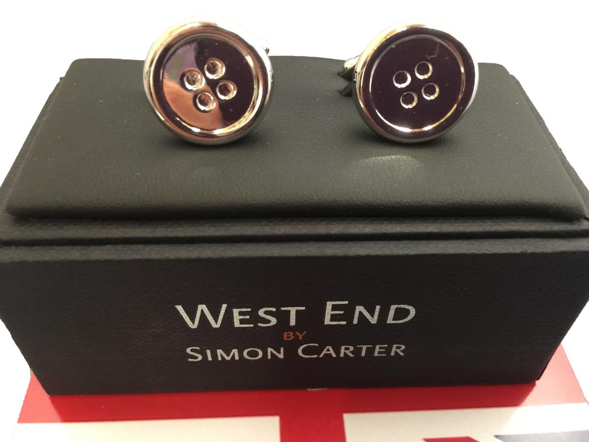 カフス カフリンクス Cufflinks メンズ 紳士 英国製 サイモンカーター SimonCarter BT12 L150