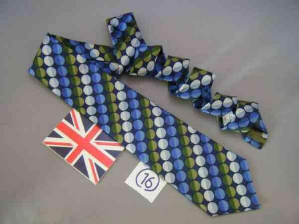 ネクタイ メンズ 紳士 シルク 英国製 ターンブル&アッサー Turnbll&Asser タイ 16 E069