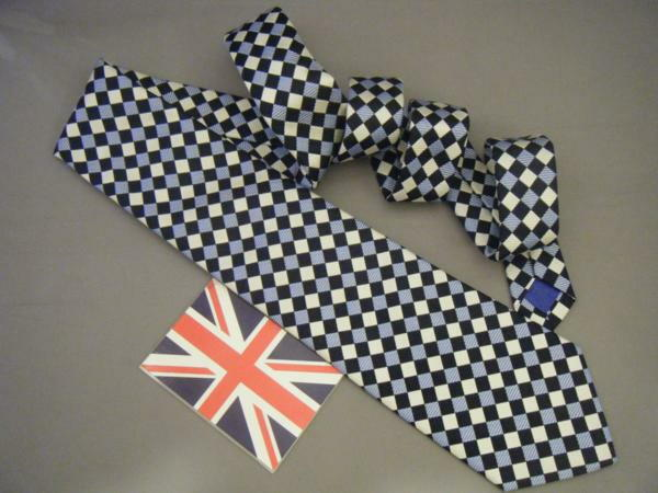 ネクタイ メンズ 紳士用 シルク 英国製 ターンブル&アッサー Turnbll&Asser タイ CKBL E182