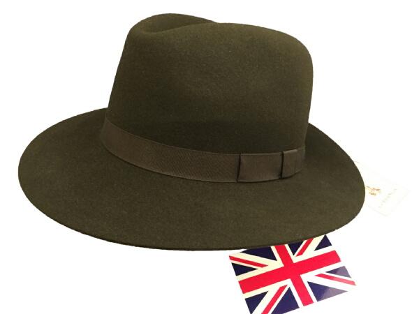 コーディングス Cordings By 英国製 エリッククランプトンの帽子 ホールディングハットGreen SizeL XL H068