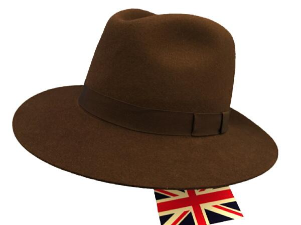 コーディングス Cordings By 英国製 エリッククランプトンの帽子 ホールディングハットBrown SizeL XL H070