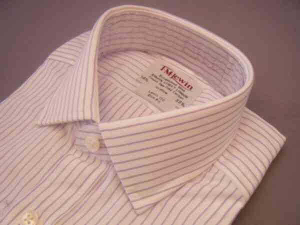 ドレスシャツ 英国 TMLewin ティエムルーイン コットン 綿 Wカフス LLSTPOSLM サイズ選択 T150